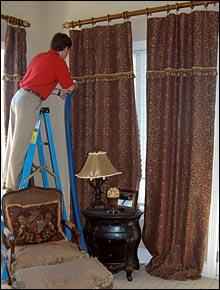 window drapery cleaning