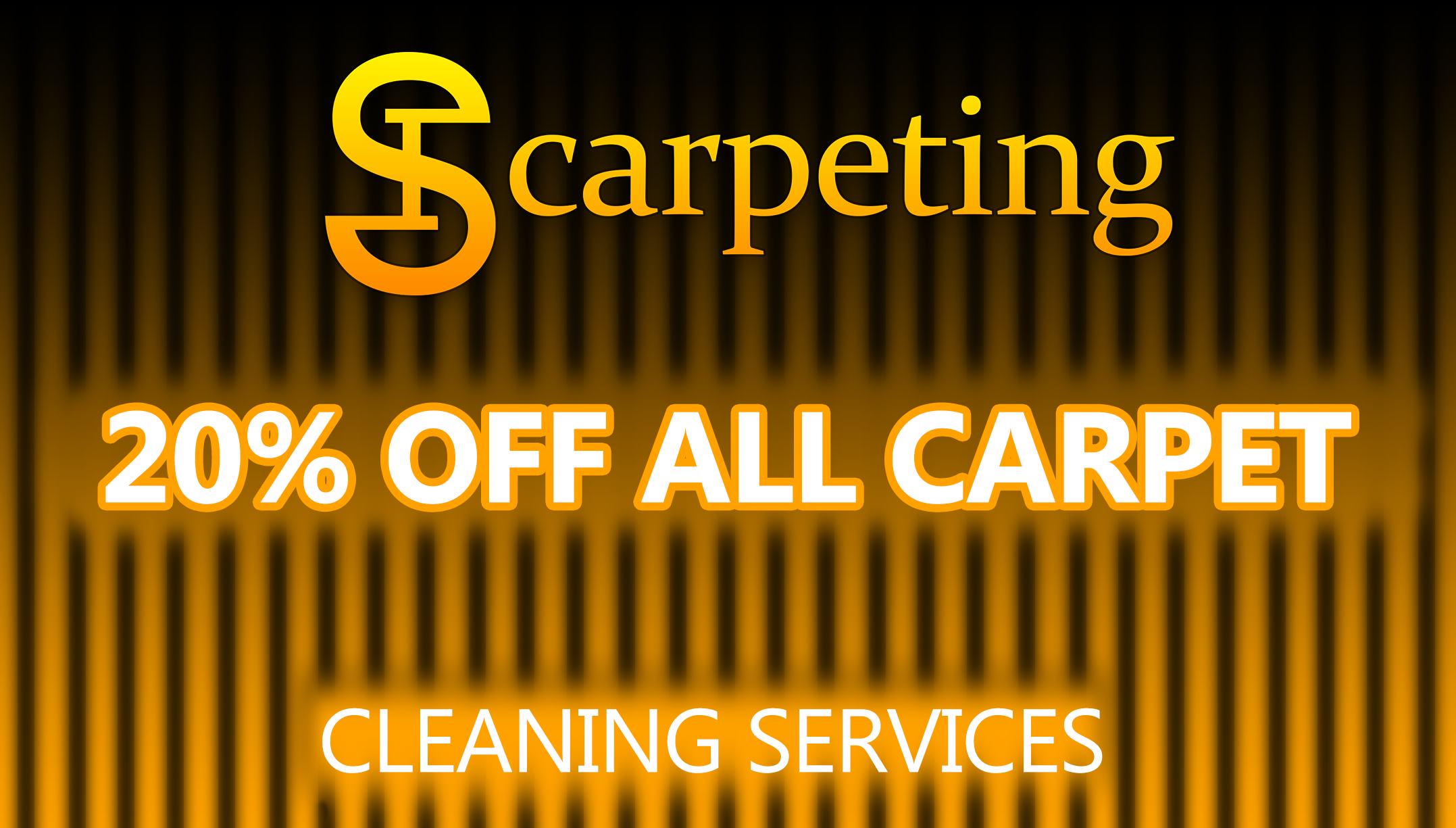 20 PERCENT OFF FOR ALL CLEANING SERVICES